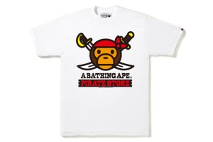 BAPE London Pirate Store T-Shirts