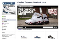 Crooked Tongues launches Facebook store