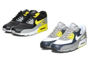 Nike Air Max 90 (Black/Varsity Maize & Grey/Volt)