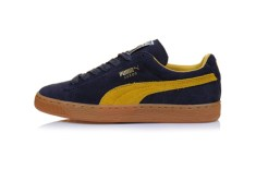 Puma Suede Classic (Navy/Mustard Yellow)