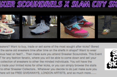 Sneaker Scoundrels x Slam City Skates Event