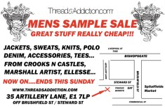 Threads Addiction Sample Sale