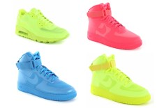 Nike Air Max 90 & Air Force 1 Hyperfuse (Neon Collection)