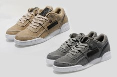 Reebok Workout BC (Khaki/White & Grey/White)