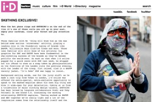 i-D Online SK8THING Interview