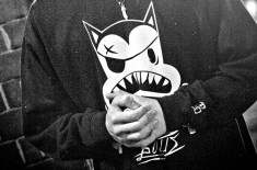 Bogus Clothing 'Cat & Crossbones' Sweater