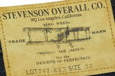 Stevenson Overall Co. San Francisco Jeans