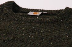 Carhartt Anglistic Sweater (Olive Heather)