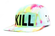 indcsn x Dertbag 'KILL' 5 panel cap
