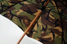 London Undercover British Woodland Camo Umbrella