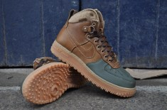 Nike Air Force 1 Hi Duckboot (Brown/Dark Army)
