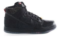 Nike x Mighty Crown Dunk Hi (Black/Varsity Red)