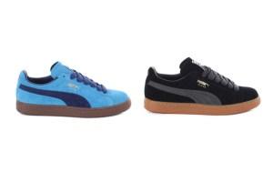 Puma Suede Classic Eco (Blue & Black)