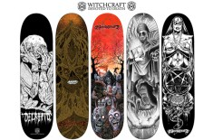 Witchcraft 'Devoted To Death' Board Graphics