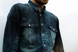 Natural Selection 'Tide Shirt' (Beatnik Denim)