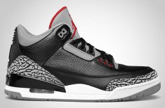 Air Jordan III Black/Cement 2011 Retro
