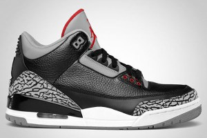 Air Jordan III Black/Cement 2011 Retro