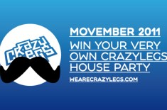 Crazylegs Movember 2011 Competition