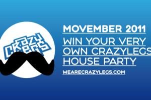 Crazylegs Movember 2011 Competition