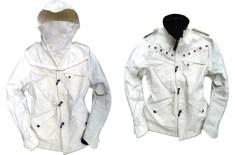 Denham Re-Cut Super White Nautilus Jacket