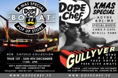 Dope Chef Christmas Boat Pop-up Store
