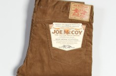 Joe McCoy Lot 916 Cord Pants (Brown)