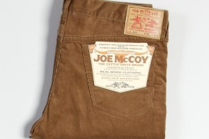 Joe McCoy Lot 916 Cord Pants (Brown)