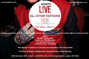Lacoste L!VE Selector Sessions: The Daily Street
