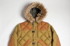 Nigel Cabourn X Eddie Bauer Khaki Geddes Clip Jacket
