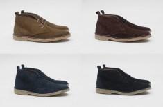 PRESENT Suede Desert Boots
