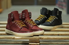 Supra Skymoc Boot (Burgundy & Black)