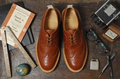 Tricker's for End Hunting Co. Long-Wing Brogues