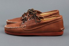 Quoddy Maliseet Oxford (Peanut Leather / Red Sole)