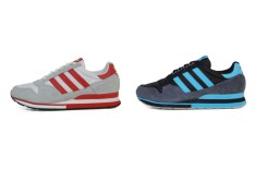 Adidas ZX500 (Grey/Red & Black/Cyan)