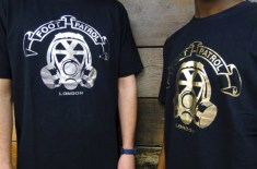 Foot Patrol Gas Mask Logo Tees
