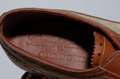 Heritage Research by Grenson 'Burrows' Long Wing Brogues
