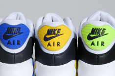 Nike Air Max 90 (Volt, Blue & Yellow)