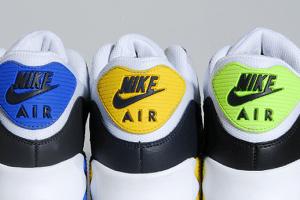 Nike Air Max 90 (Volt, Blue & Yellow)