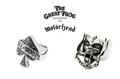 The Great Frog for Motörhead Silver Rings