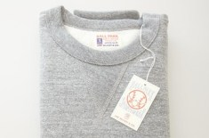 The Real McCoys Grey 12oz Sweat