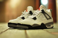 Air Jordan IV 2012 Retro (White/Cement)