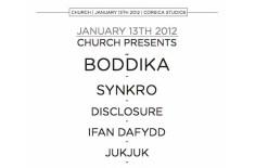 CHURCH @ Corsica 13.01.12