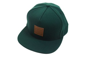 Patta leather patch cap