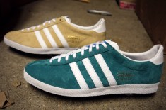 adidas Gazelle OG (Teal & Tan)