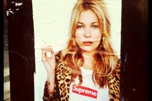 Supreme x Kate Moss 2012 campaign