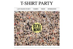 T-Shirt Party Returns