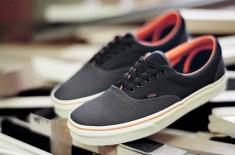 Vans Era Neoprene (Black/Orange)