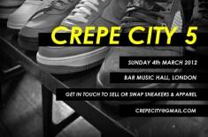 Crepe City 5 Sneaker Festival