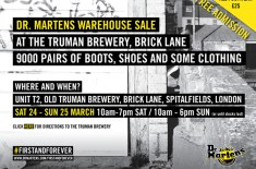 Dr. Martens Warehouse Sale (London)