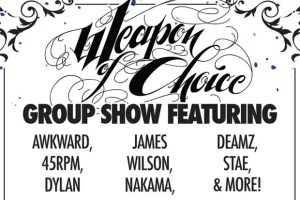 Weapon of Choice March 2012 Group Show